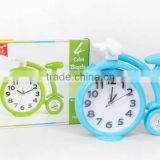 Plastic bicycle style Alarm Clock,HC004689