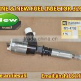 INquiry about Genuine and New Common Rail Injector 326-4700 for 320D Excavator D18M01Y13P4752