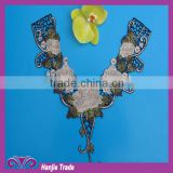 In stock Machine Embroidery Lace Collar, Suits Neck Designs ,Neck Design for colthing/ Dresses