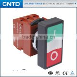 CNTD Button Switch Indicating Lamp Button Switch Pushbutton Switch With Waterproof Cover C2PID