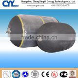 Durable biogas storage bag for gas collecting
