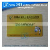 pvc maker RFID id paper card with 1k s50 inlay