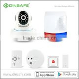 Hot sell alarm system, Integrate IP camera and outdoor siren