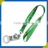 Fashional Beer Bottle Opener Holder Lanyard for Promotion Gift