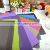 woven place mat/custom made placemats/dinner placemat