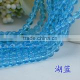 wholesale european handcrafted glass beads,good quality glass beads,blue round glass beads