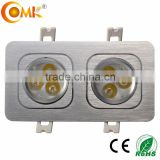 wholesale alibaba new 6W Led grille light Aluminum recessed spotlight neutral white 4000k