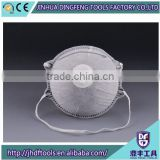 Activated Carbon Dust Mask Disposable Cleaning Molded Face Masks Respirator Safety Clean Cheap