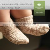 slipper socks with rubber sole comfortable warm knitted baby socks heated socks