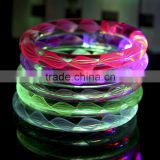 Fluorescence Stick Electronic LED flashing Bracelet Light-emitting bracelet for concert