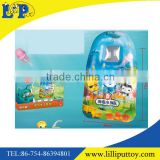 Newest cartoon pattern air inflation surfboard toy