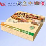 Custom corrugated pizza box for Italy for sale.