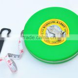 50m round retractable feet measurement fiberglass pipe close tape measure tapeline distance measure