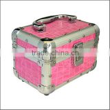 METAL VANITY CASE NAIL COSMETIC SALON JEWELLERY TRINKET BOX 3 COLOURS ZYD-HZ282