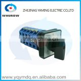 LW26-25/5 High quality DC voltage momentary electrical manual changeover rotary cam switch five poles(phases) 25Asilver contacts                                                                         Quality Choice