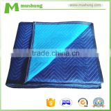 China Suppliers quilt blankets rebel wholesale plush blankets cotton-polyester mix or nonwovens moving blanket