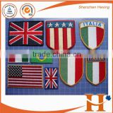 Custom High Quality 3D Embroidered Neck Patch,american flag patch,Embroidered army patches                                                                         Quality Choice