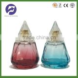 50ml Colored Customized Diamond Shaped Perfume Glass Bottle