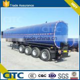 Liquid Bitument/Asphalt transport tanker truck semi trailer CITC lower price larger capacity