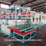PS foam sheet Mechanical Arm Type Automatic Vacuum Forming and Cutting Integrated Machine