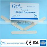 2015 new disposable sterile wooden tongue depressor