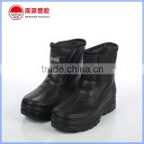 Black color light oil resistent EVA working winter shoes