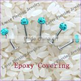 Fashion Design High Polish Stainless Steel Unique Labret Body Piercing Jewelry [FC-962B]