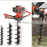 NEW 49cc CE Approved Earth Drill professional one man hand use gasoline earth auger,hole digger,earth drill
