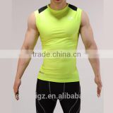 Men's Compression Gym Clothing Fitness Base Layer Tank Top Sleeveless Vest Crossfit Quick Dry Fit Shirt for Male