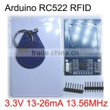 RC522 RFID module with S50 White Card and key ring RF sensor 13.56MHz