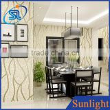 Modern simple stripe design wallpaper non-woven wallpaper tv background wallpaper 3d wall paper