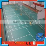 Guangzhou badminton court mat in Artificial Grass and Sports Flooring