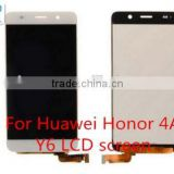 Black white High quality LCD screen For Huawei Honor 4A Y6 LCD screen replacement Touch Screen Digitizer