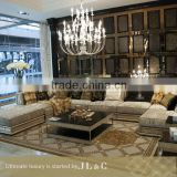 JS14-21 Left Arm sofa set in living room from JL&C luxury home furniture NEW sofa designs 2016(China supplier)