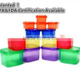 Portion Control Containers Double Set - 14 Pieces - For Weight Loss and Diet Program w/ Lids - Nutrition Guide Included - Measur