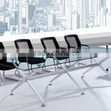 Top Design Rectangle Black Color/Modern Office furniture meeting table conference table glass table glass desk PT-C001