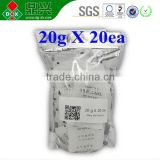 Factory Directly Sale 20G*20PK Silica Gel Desiccant Humidity Moisture Absorb Resuable Packing Suply
