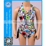 Domi flower kids fashion bikini high quality sexy xxx bikini girl swimwear photos of tankini swimsuit