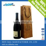 Wholesale Eco-Friendly Recyclable Customized Wine Bag In Box Holder