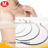 2016 wholesale stainless steel High quality bra Nylon coated under wire