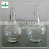 round clear glass bottle for white wine, OEM glass wine bottles manufacturer