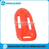 pvcInflatable red Rider Body Board Surf Board Wave Water Pool Float Beach Toy
