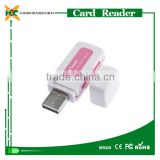 High Quality mini plastic USB Interface 2.0 chip card writer and reader ,Alibaba lowest price smart chip card reader
