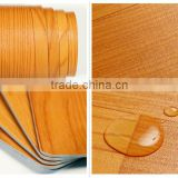 Eco-Friendly Commercial Wood Dense Vinyl Flooring Roll