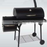 Outdoor BBQ Grill Charcoal Barbecue Garden Meat Cooker Smoker