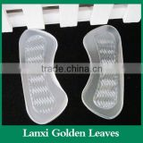 Anti Slip Silicone Gel Heel Insoles Cushions Pads Sticky Massage PU Gel Ladies Foot Gel Heel Insoles