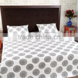 Jaipur Hand Block Print Bed Sheet Indian Hand Block Printed Cotton Fabric Bedsheets