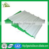 2.5mm opal milk white lake blue sky blue color coated roofing sheet for mini greenhouse