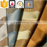 plain dyed jacquard pattern and home hotel use organic polyester printed fabric for curtain
