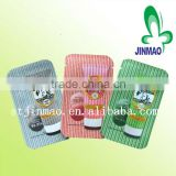 Hot sale in korea market mini size facial cream/mask/three side seal laminated shampoo pack bag